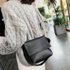 Pom Pom Square Crossbody Bag