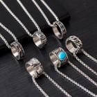 Ring Pendant Necklace (various Designs)