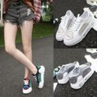 Platform Colored Panel Sneakers