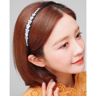 Swarovski Flower Hair Band