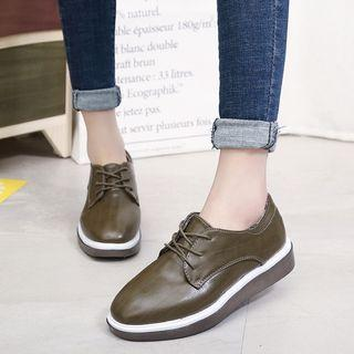 Fabric Oxfords