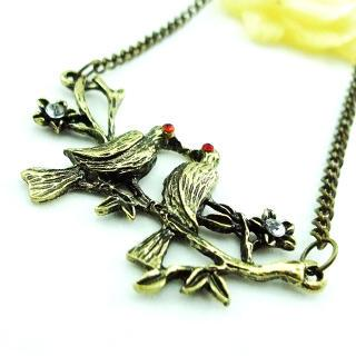 Love Birds Necklace Copper - One Size