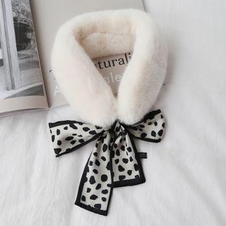 Fabric Bow Scarf