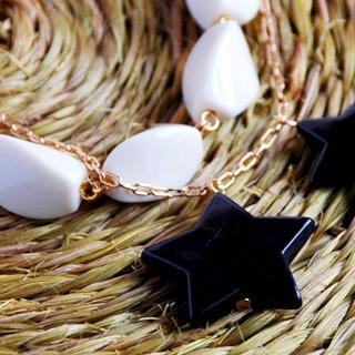 Sweetie Black Star Bracelet