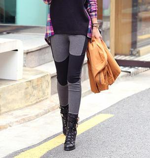 Color-block Leggings