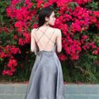 Strappy A-line Sun Dress