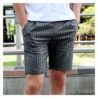 Stripe-patterned Shorts