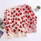 Strawberry Round-neck Sweater