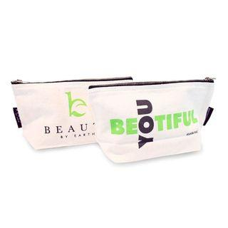 Beauty By Earth - Canvas Makeup Bag Medium