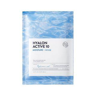 Nature Republic - Hyalon Active 10 Moisture Mask Sheet 25ml X 1 Pc
