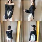 Long-sleeve Hooded Top / Shorts