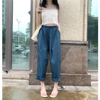 High Rise Wide Leg Pants As Shown In Figure - One Size