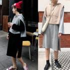 Long Sleeve T-shirt Dress / Hooded Tank Top