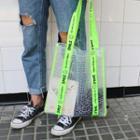 Smiley Transparent Tote Bag