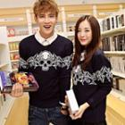 Couple Skull-print Sweater