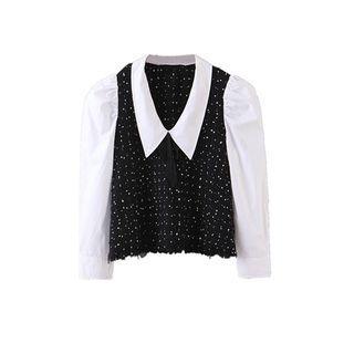 Dotted Knit Shirt