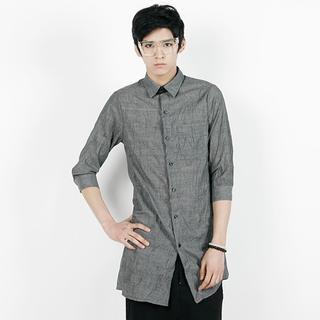 3/4-sleeve Long Shirt