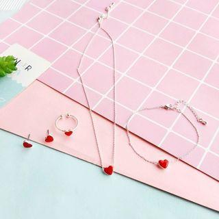 Heart Earring / Ring / Bracelet