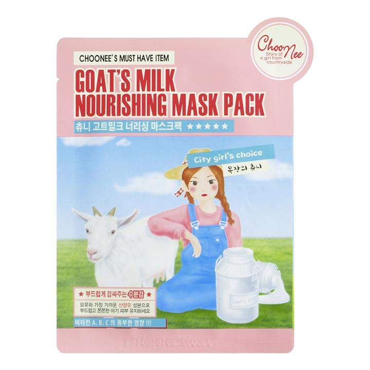 Choonee - Goats Milk Nourishing Mask Pack 1 Pc