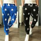 Star Printed Sweatpants