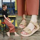 Platform Knot Sandals