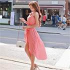 Sleeveless Dip-back Dress