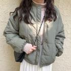 Padded Button-up Jacket