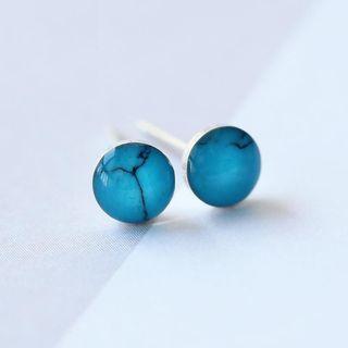 Marble Print Earrings