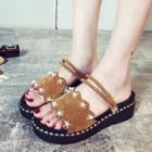Star Studded Sandals / Platform Sandals