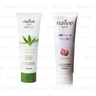 Kracie - Naive Facial Cleansing Foam 110g - 2 Types