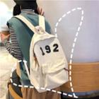 Numeral Canvas Backpack