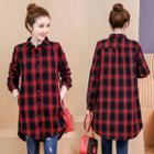 Fleece Lining Plaid Shirt