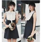 Tie-neck Sleeveless Dress