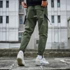 Pocket-back Slim-fit Pants