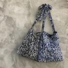 Paisley Patterned Canvas Shoulder Bag