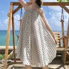 Dotted Halter Sundress