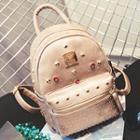 Rhinestone Studded Backpack
