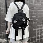Panda Pin Backpack Black - One Size