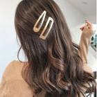 Set Of 2: Metal Hair Clip