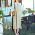 Jumper Dress Beige - One Size