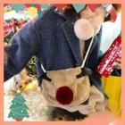 Deer Furry Shoulder Bag