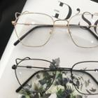 Cat Ear Metal Frame Eyeglasses