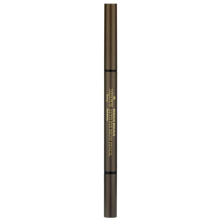 Bisous Bisous - Auto Eye Brow Pencil (#02 Dark Brown) 1 Pc