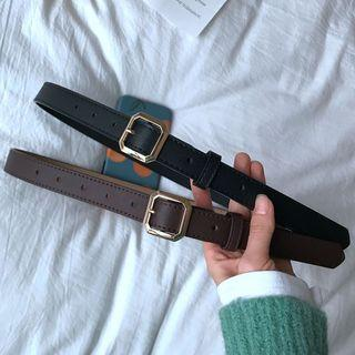 Octagonal Buckle Belt