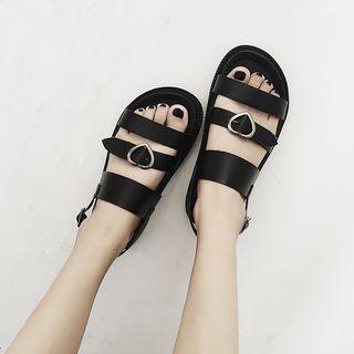 Platform Flat Sandals
