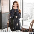 Jeweled Star Knit Top