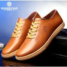 Lace Up Genuine Leather Shoes