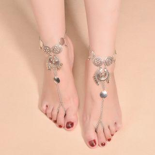 Ring-toe Coin Anklet