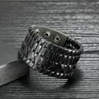 Faux-leather Braided Bracelet