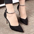Chain Pointy Pumps
